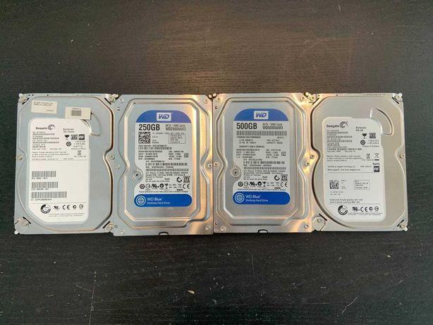 ЖЕСТКИЕ ДИСКИ 3,5 250/500 GB В КОЛИЧЕСТВЕ! Так же карманы для дисков!