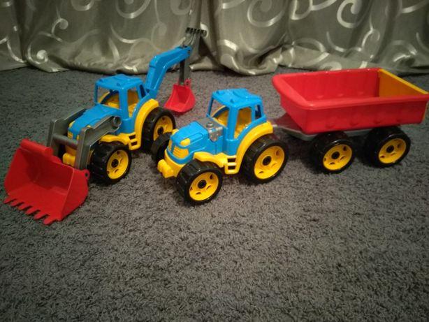 Великі машини , трактор , джип