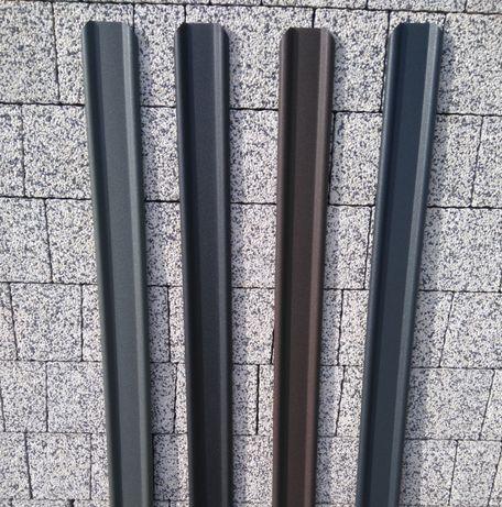 PROMOCJA Sztachety metalowe / docinane na wymiar / różne kolory