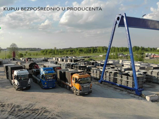 Szamba betonowe, szambo, zbiornik na deszczówkę 4m³ PRODUCENT