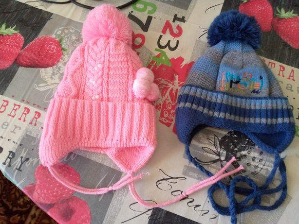Зимові шапки дитячі остання доросла.