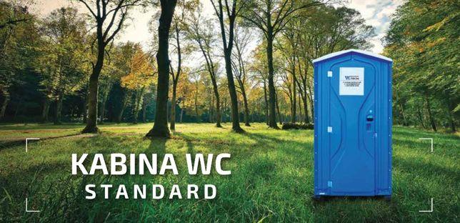 Toaleta przenośna, serwis toalet, wynajem kabin na budowę, WC Tron