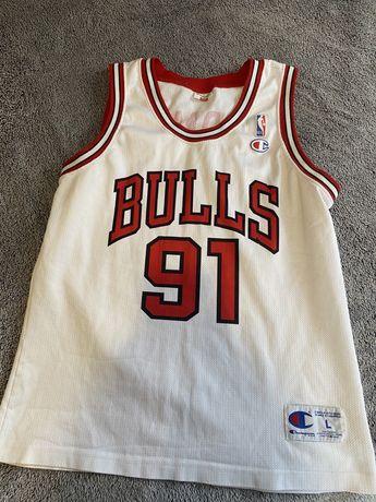 Chicago bulls баскетбольная майка