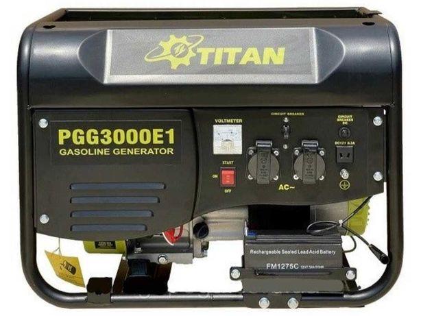 Аренда/прокат Бензиновый генератор Титан PGG3000E1 о 250 грн/сутки