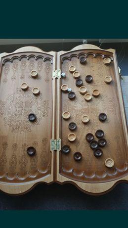 Backgammon nardy ręcznie robione nowe niepowtarzalne