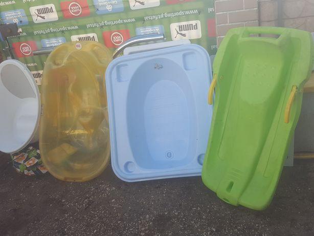Várias  banheiras  para  crianças  5€ cada