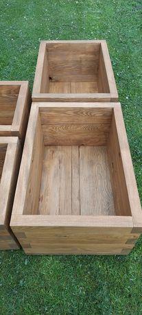 Doniczki drewniane