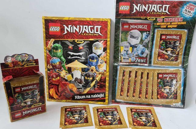 LEGO NINJAGO album multipak naklejki 90 saszetki 18 SZT figurka ZANE