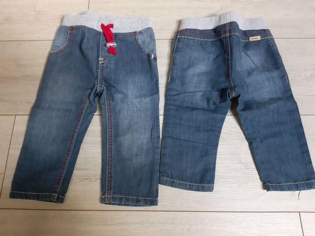Spodnie jeans 74 i 80