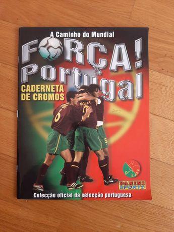 Panini Caderneta Completa Força Portugal (Mundial 2002)