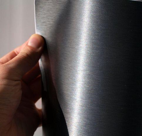 Плівка оракал шліфований алюміній, самоклеюча