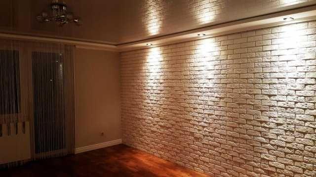 Cegła Dekoracyjna Eleganckie Wnętrze biała z fugą