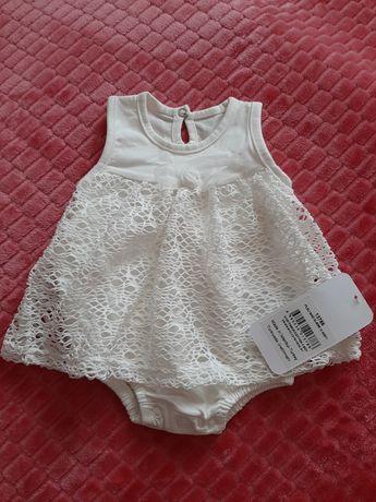 Боди-платье на девочку