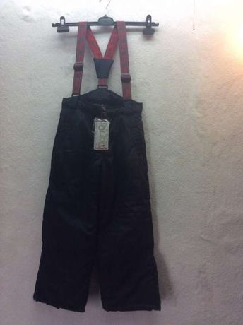 Spodnie narciarskie na szelkach roz.92,98,116,122,140 cm nowe
