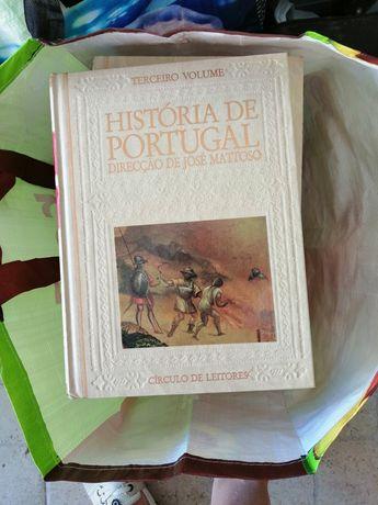 História de Portugal coleção completa