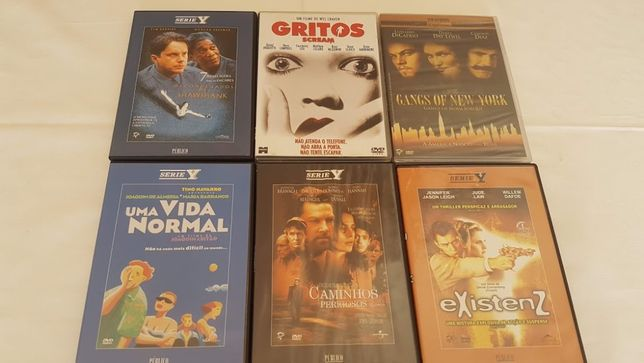 Lote de 29 Dvds filmes (alguns ainda selados)