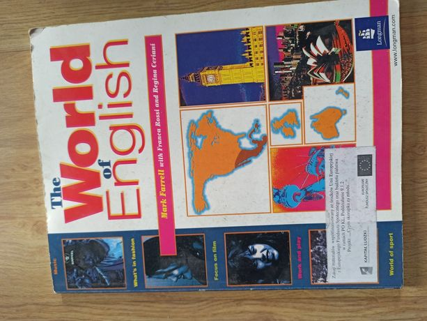 Książka do angielskiego the world of english