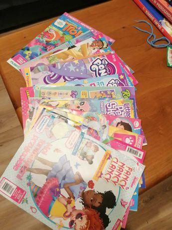 Gazety kolorowe dla dziewczynki