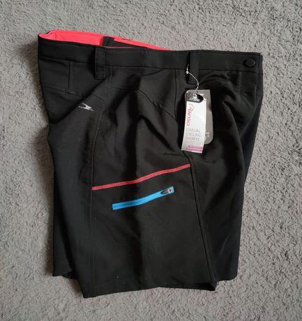 Damskie spodenki rowerowe CRANE L shorts cycling nowe na rower