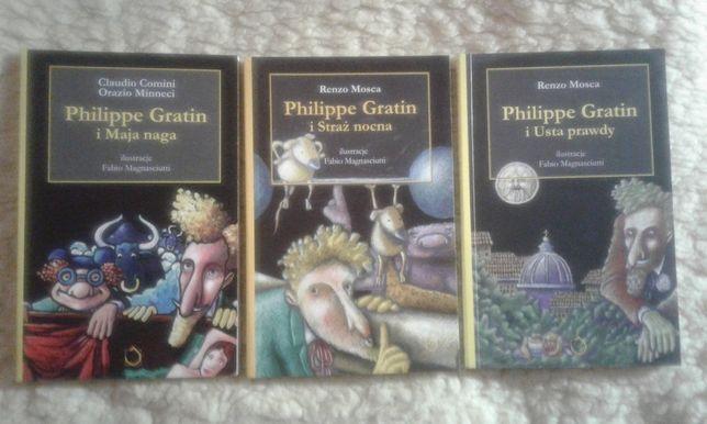 "Comini, Minneci ""Philippe Gratin i Usta prawdy"", ""Straż nocna"", ""Maja"""