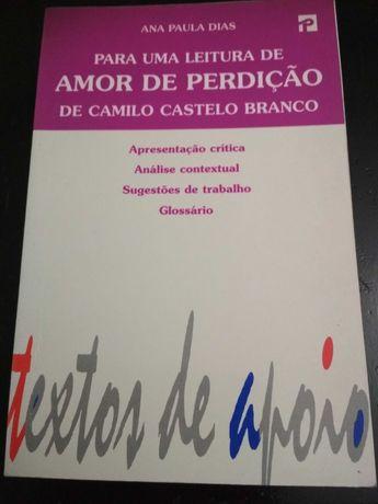 Para uma Leitura de Amor de Perdição Ana Paula Dias