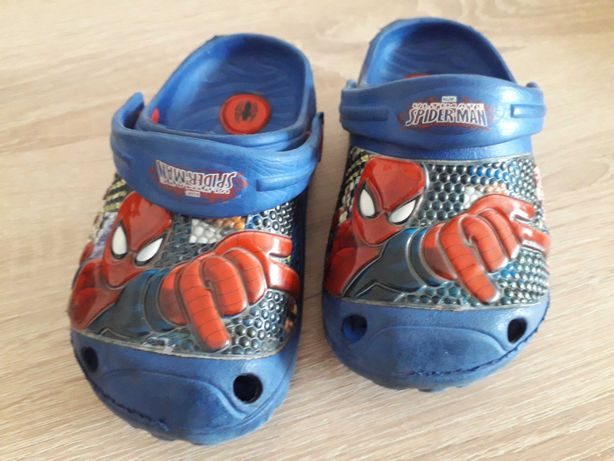 Crocsy dziecięce Spider Man roz.25 (15,5cm)