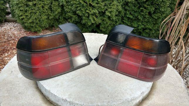 Lampy tylne tył MHW InPro Dymione/Black BMW E36 Compact RARYTAS