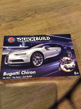 Quick Build,новый конструкто, сборная модель автомобиля Bugatti Chiron