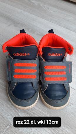 Buty adidas 22 dł wkładki 13 cm