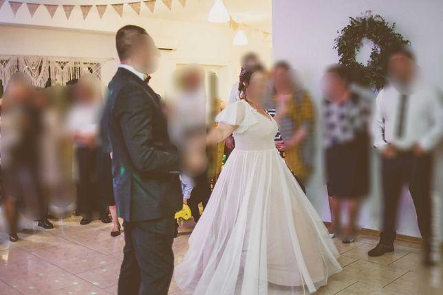 Wyjątkowa suknia ślubna plus size