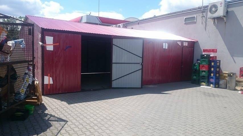 tanie garaże blaszane, hale, wiaty, kioski Włocławek - image 1
