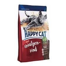 Корм Хэппи Кет Альпийская говядина для взрослых кошек 10 кг