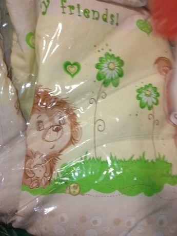Продам бортики в кроватку одеяло кармашек для необходимого простынь