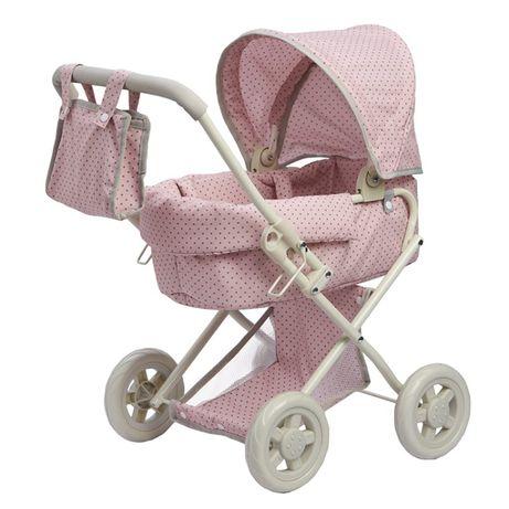 Różowy wózek dla lalek Olivia's Little World OL-00003
