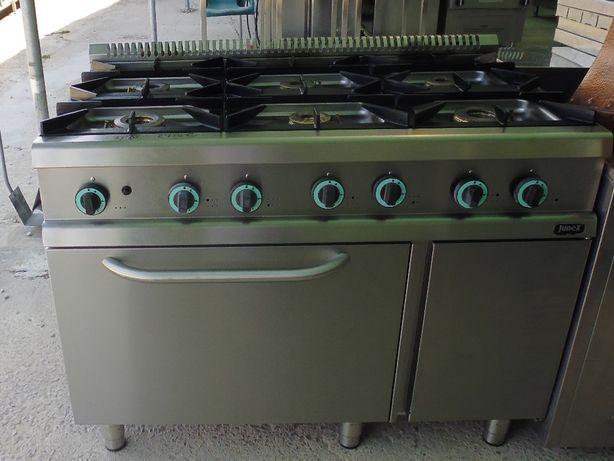 Fogão junex 6 bocas e forno Ultimo modelo