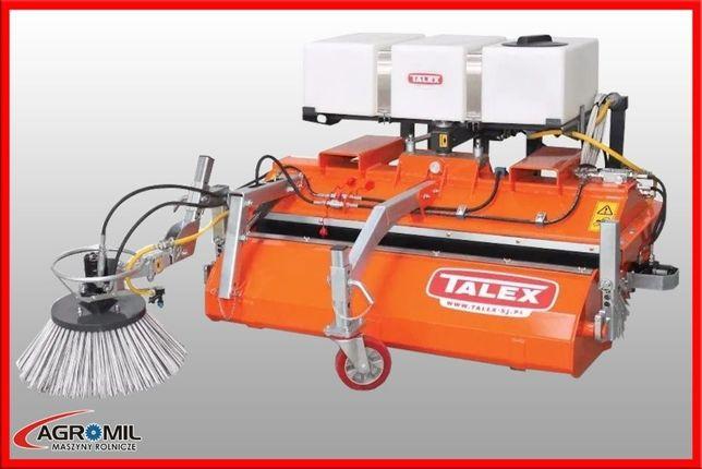 Zamiatarka drogowa szczotkowa Talex ZM 1200 promocja transport