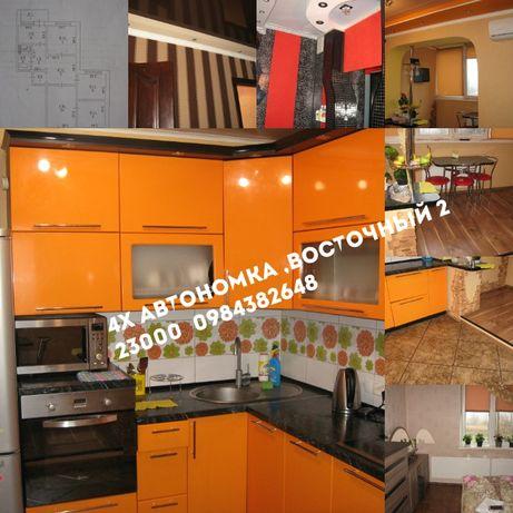 Продам 4-х комнатную квартиру м-н Восточный 3,Автономка