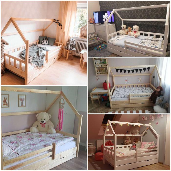 Łóżko domek 160x80 Krotoszyn - image 1