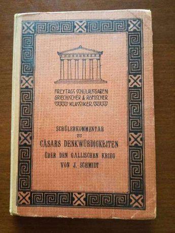 Schuler Kommentar Casars Denkwurdigkeiten z 1908r.