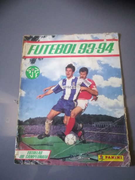 Vendo caderneta Futebol Época 93/94 - COMPLETA