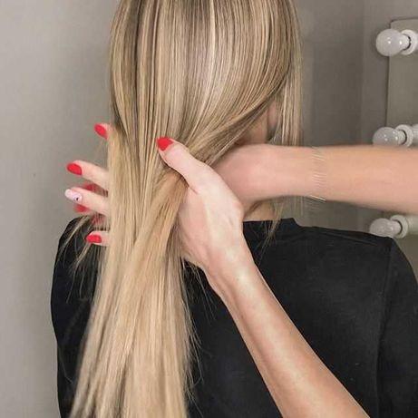 Кератиновое выпрямление, ботокс для волос, пилинг