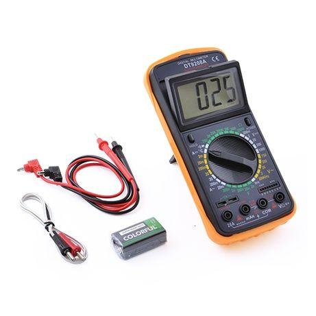 Мультиметр цифровой универсальный Digital DT9208A + термопара