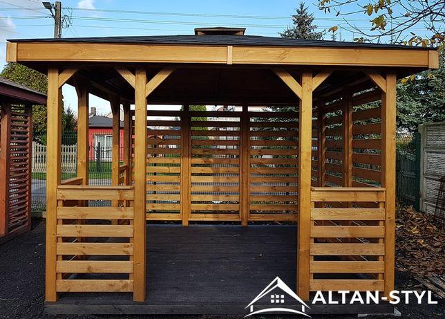 Altany, altanki, wiaty, altanka ogrodowa LILA 3x3m PRODUCENT