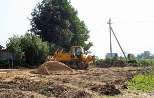 Уборка,Выравнивание,расчистка участка,Спил деревьев,Демонтажные работы