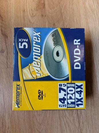 Płyty DVD-R Memorex Nowe