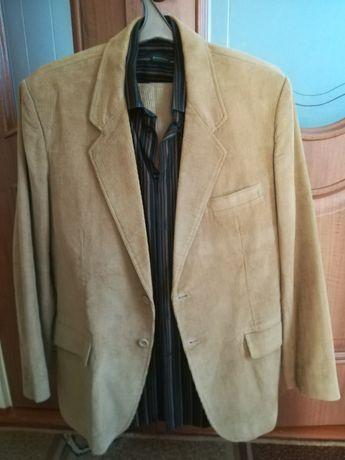 Мужской новый вельветовый пиджак