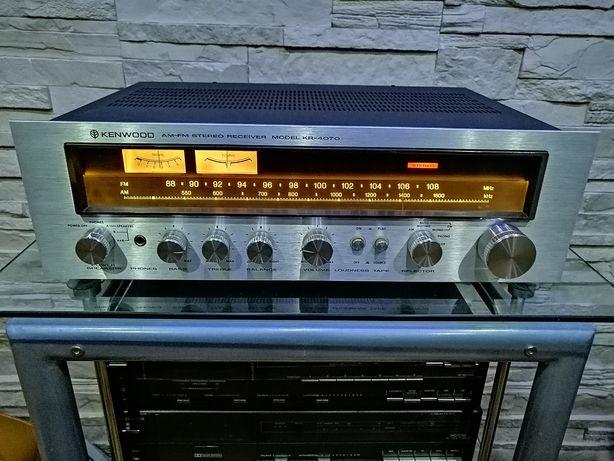 Amplituner KENWOOD KR-4070 Piękny Retro Vintage