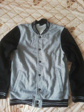 Bluza z hm czarno szara