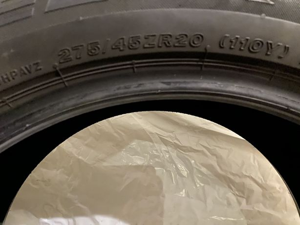 Летняя резина 305/40 и 275/45 R20 110Y Bridgestone Dueler Hp