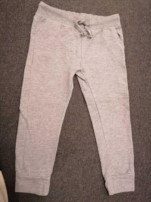 Spodnie dresowe szare, srebrna nitka rozm. 116 SMYK dziewczynka Warszawa - image 1